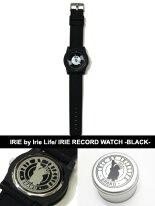 ������Х�������饤��IRIEbyIrieLife�ӻ��ץ����å����겣�ͥ쥲���ץ����ƥ�IRIERECORDWATCH-BLACK-