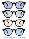 ルチニ LUCHINI サングラス SUNGLASS -CITY2- -4.COLOR- 黒縁 メンズ レディース ユニセックス ウェリントン ブルー パープル グレー ブラウン ブラック