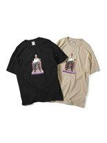 Saints&SinnersセインツアンドシナーズグラフィックプリントTシャツM-XLブラックサンド半袖クルーネックMONEYMANSSTEE-2.COLOR-