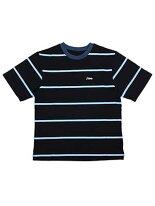 ピーエスシーエヌPSCNボーダーTシャツM-XLサイズネイビー/紺半袖カットソーヘビーオンスBORDERSST-SHIRT-NAVY-