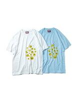 アイリーバイアイリーライフIRIEbyIrielifeグラフィックTシャツDROPSMIRIEPOCKETTEEメンズM-XLサイズホワイト/ライトブルー