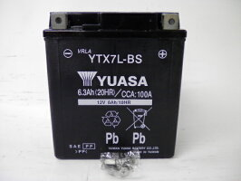 YUASAユアサYTX7L-BS互換DTX7L-BSFTX7L-BSGTX7L-BS初期充電済即使用可能