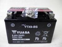 台湾YUASAユアサYTX9-BS互換/GTX9-BSFTX9-BSDTX9-BS初期充電済即使用可能