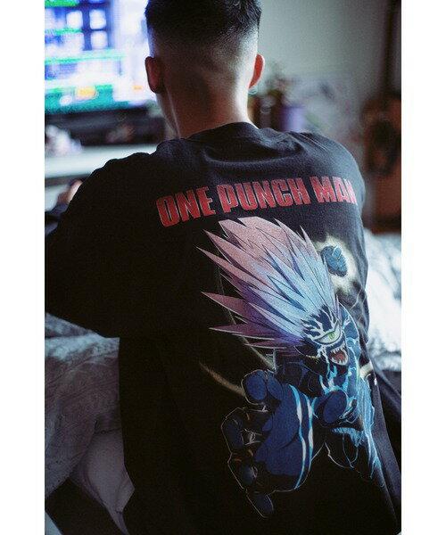 トップス, Tシャツ・カットソー BAIT ONE PUNCH MAN INTO ACTION LS TEE(207-OPM-TEE-001)T