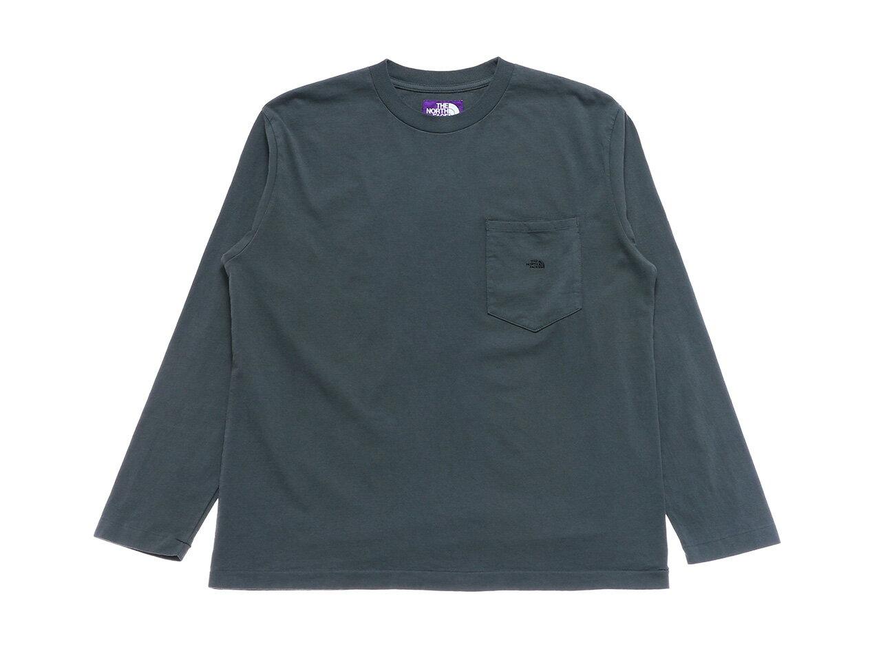 トップス, Tシャツ・カットソー THE NORTH FACE PURPLE LABEL 7oz LS Pocket Tee - (NT3058N)TT