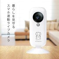 ペットも見守れるホームセキュリティイーカメラeCamera