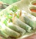 エスニック料理の代表生春巻きセット(約10本分)ポー・ピヤ・ソット(タイ料理)