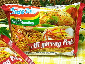 インドミー・激辛ミーゴレン(インドネシアの辛口焼きそば・インスタント食品)10袋お試しセットq