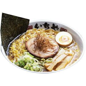 鶏、豚、魚介、香味野菜等の旨みを凝縮させた完成度の高いスープ。硬めが似合ういちや細ちぢれ...