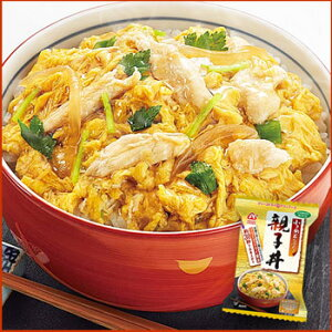 お湯を注げば、出来上がり!小さめ親子丼(どんぶり)アマノフーズ 親子丼 12袋 【アマノフー...
