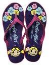 SurferGirl(サーファーガール)ビーチサンダルヒール有紫【バリ・アジアン雑貨バリパラダイス】