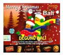 DM便 OK!バリ島 CD★激安 品数 NO.1★バリのクリスマスミュージック♪メリークリスマス&ハッピィニューイヤーフロムバリドゥグンバリMerry Christmas  Happy New Year from Bali【バリ・アジアン雑貨バリパラダイス】