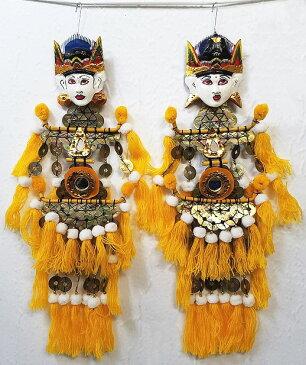 祭り用バリニーズ人形飾りセット【バリ・アジアン雑貨バリパラダイス】