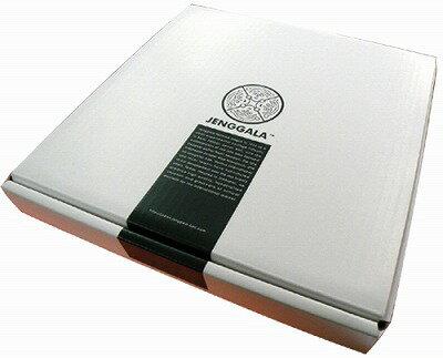 ジェンガラJENGGALA25.5×25.5cmスクエアプレート用ギフトBOX【バリ・アジアン雑貨バリパラダイス】