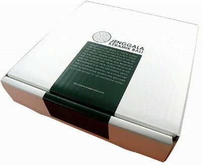 ジェンガラJENGGALA18×18cmスクエアプレート用ギフトBOX【バリ・アジアン雑貨バリパラダイス】