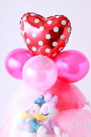 バルーン電報結婚祝い結婚式お祝い誕生日ディズニードナルド&デイジーバルーンラッピング本州送料無料!!