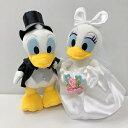 ■ぬいぐるみ電報■(電報)結婚式 ディズニー♪ ドナルド&デイジーのウェディング♪ ぬいぐるみ 祝電 ウェルカムドールにも♪