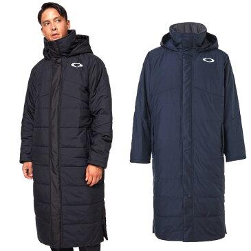 30%OFF オークリー Enhance Long Coat 10.7 撥水 ロングコート OAKLEY インサレーション ウィンド素材 裏起毛 保温 防寒 一般 大人 FOA401605