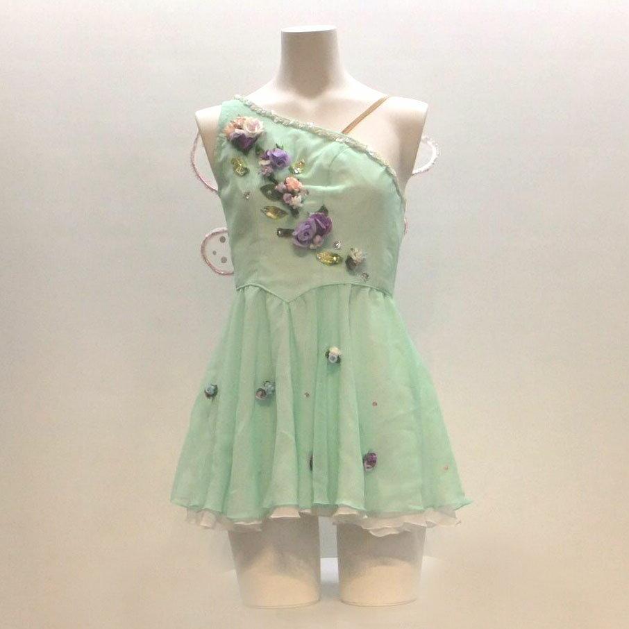 【レンタル】バレエ衣装 妖精,ティンカーベル,キューピッド,真珠,チュニック&ワンピース,小品衣装