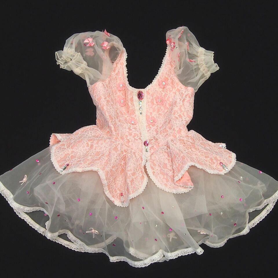 【レンタル】バレエ衣装 コロンビーヌ,人形,キャンディーボンボン,花の精,創作,ワンピース,小品衣装