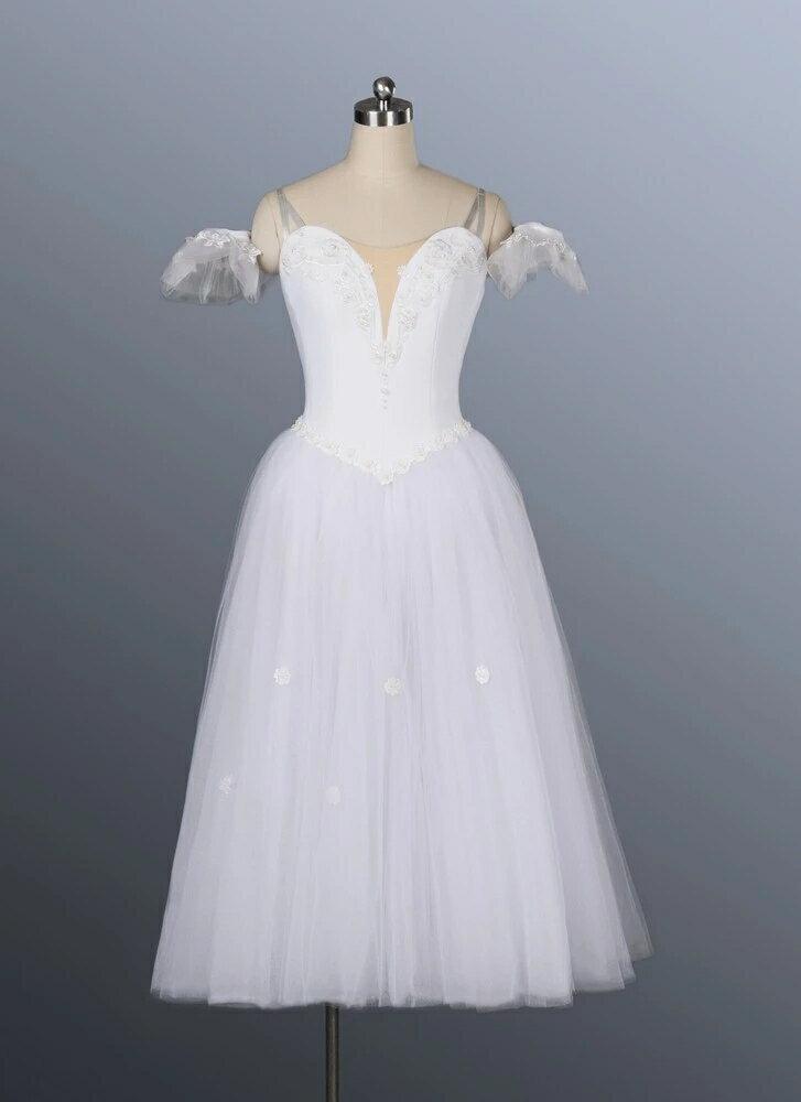 【レンタル】バレエ衣装 ジゼル,ロマンティックチュチュ,ヴァリエーション衣装