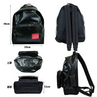 ManhattanPortage/マンハッタンポーテージ/PVC_Big_Apple_Backpack/リュック/ビッグアップル_バックパック/MP1210VL2/サイズ