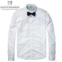 SCOTCH&SODA/スコッチアンドソーダ/シャツ/長袖シャツ/ボウタイ付き/メイン