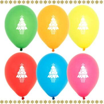 11インチ シーズンバルーン【クリスマスツリー】天然ゴム100%【50個入】
