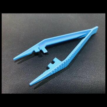 カワモト 滅菌ピンセット S1本入り 使用期限切れ ネイル 模型 プラモデル 滅菌済 11cm 一般医療機器 個包装