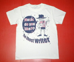 Musicdoyoulike??ホワイトTシャツ★バンビの裏ブランド『TheGhostWriter』★
