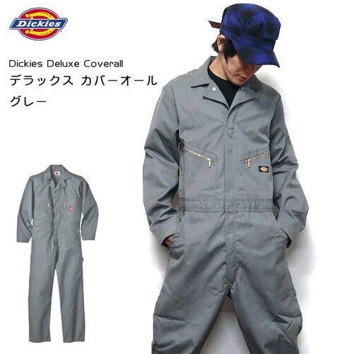 Deluxe Coverall デラックス カバーオール(グレー:つなぎ)dk-4879...