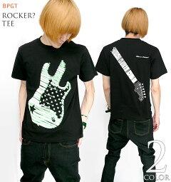 Rocker?Tシャツ【BPGTバンビプラネットグラフィックTシャツ】sp029tee-G-ロッカーロックロックTシャツバンドTシャツギターTブラックホワイト白黒オリジナル半袖メンズレディースユニセックスファッション【RCP】05P30May15
