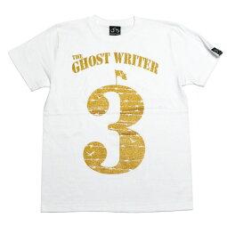 GHOST3Tシャツ-TheGhostWriterザゴーストライター-tgw015tee-G-ロックパンクロックTシャツロゴ有刺鉄線パンクファッション黒系ブラック白系ホワイト半袖メンズレディースユニセックス【RCP】