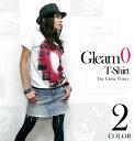 Gleam 0(ゼロ) Tシャツ -The Ghost Writer-tgw023tee-G-RR- 半袖 トップス ロック ストリート グラフィック Punk Rock フォトTシャツ かっこいい オリジナル メンズ レディース ユニセックス ファッション ホワイト 白 春夏秋 大きいサイズ【RCP】