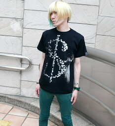 HIKARITシャツ-TheGhostWriter-tgw040tee-G-RR-半袖パンクTシャツロックTシャツパンクロックファッションコンセプトデザインメンズレディースユニセックス大きいサイズかっこいいブラック黒色Tシャツ屋さんバンビ【RCP】