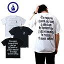 BAMBOO SHOOTS バンブーシュート【速乾T】Throughout TEE スルーアウトティープリント Tシャツ T T-SH アウトドア キャンプ フェス フジロック ACE 永壽 バックプリント タイポグラフィ おしゃれ かっこいいTシャツ