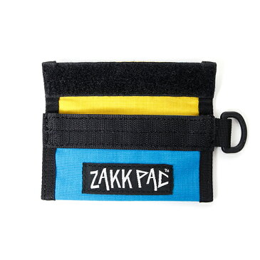 ZAKKPAC ザックパックCOIN CASE BLUE/YELLOW コインケース ブルー/イエロー コインケース コンパクト カードケース アウトドア CAMP FES キャンプ フェス ギア