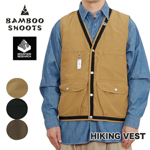 メンズファッション, コート・ジャケット 2021SSMOUNTAIN RESEARCH BAMBOO SHOOTS HIKING VEST MOUNTAIN RESEARCH CAMP