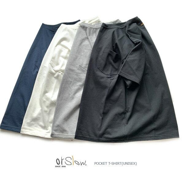 トップス, Tシャツ・カットソー orslowPOCKET T-SHIRT(UNISEX)03-0017