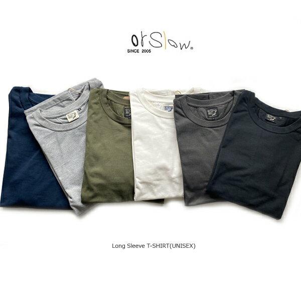 トップス, Tシャツ・カットソー 10OFFSALEorslowLong Sleeve T-SHIRT(UNISEX)03-0013