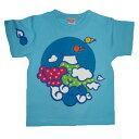 名入れTシャツ 出産祝い 子供服 名前入り 富士山Tシャツ 外国人 日本 お土産 登山 ブルー