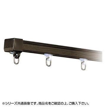 岡田装飾 OSスーパーAレールセット(MG入り) 3m×2本 AワンタッチWブラケット付き6個 ウォールナット 7MW30WN メーカ直送品  代引き不可/同梱不可