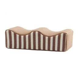 フィット足枕 約45×25cm ブラウン 9370959 メーカ直送品  代引き不可/同梱不可