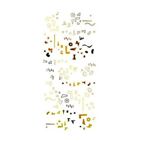 TSUMEKIRA(ツメキラ) ネイルシール hokuriプロデュース1 カタチの群れ ゴールド SG-HOK-102 メーカ直送品  代引き不可/同梱不可