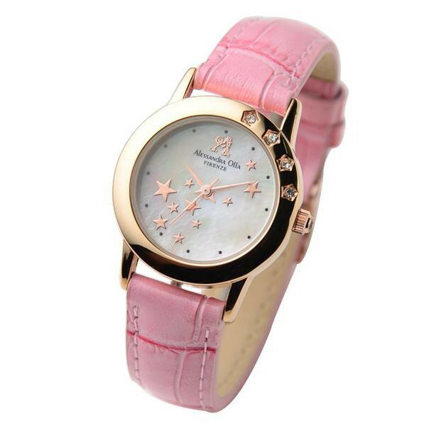 アレサンドラオーラ Alessandra Olla 腕時計 AO-810 RPK 代引き不可/同梱不可