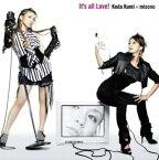 ポイント10倍 30日pm23:59まで メール便可 新品CD▼It's all Love ! CD+DVD▽セル専用