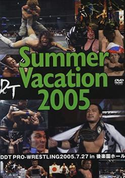 ポイント最大14倍 20日pm23:59まで メール便可 【中古】DVD▼DDT Summer Vacation 2005-2005年7月27日後楽園ホール大会-