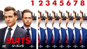 SUITS スーツ シーズン5 8枚セット 第1話〜第16話 最終【全巻セット 洋画 海外ドラマ 中古 DVD】レンタル落ち