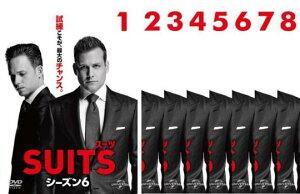 SUITS スーツ シーズン6 8枚セット 第1話〜第16話 最終【全巻セット 洋画 海外ドラマ 中古 DVD】レンタル落ち