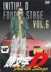 【中古】DVD▼頭文字 イニシャル D Fourth Stage 6▽レンタル落ち【東映】